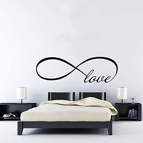 wall decals love infinity symbol love bedroom infinity loop vinyl