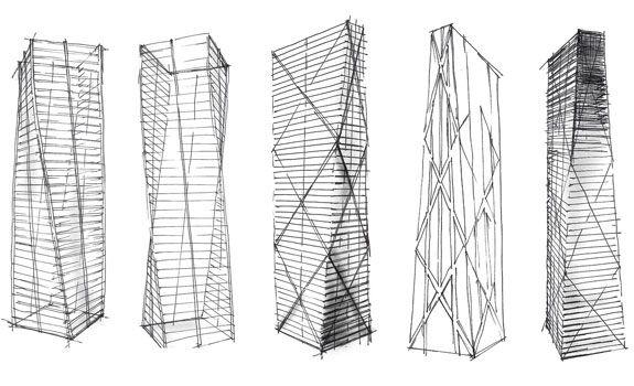 urban sketch skyscraper - Google Search