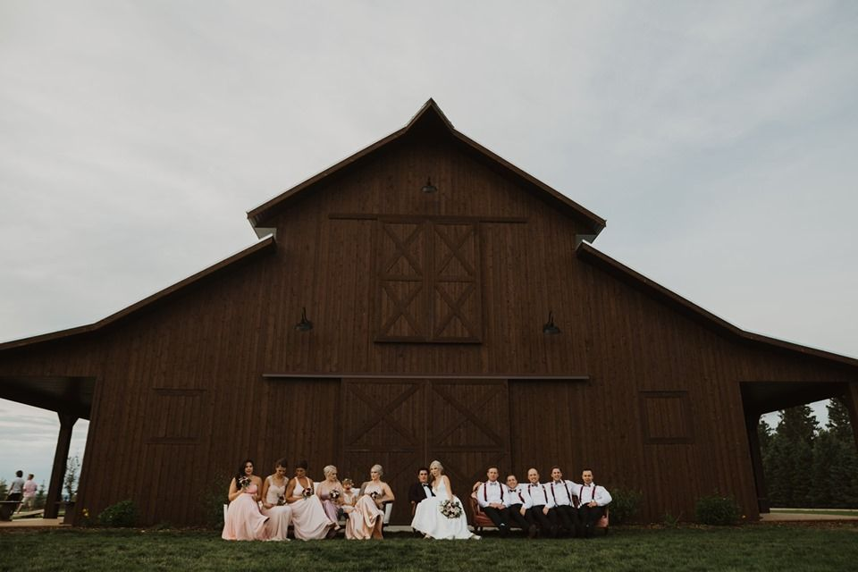 Sweet Haven Barn (With images) | Barn venue, House styles ...