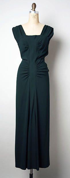Designer:Elsa Schiaparelli (Italian, 1890–1973) Department ...