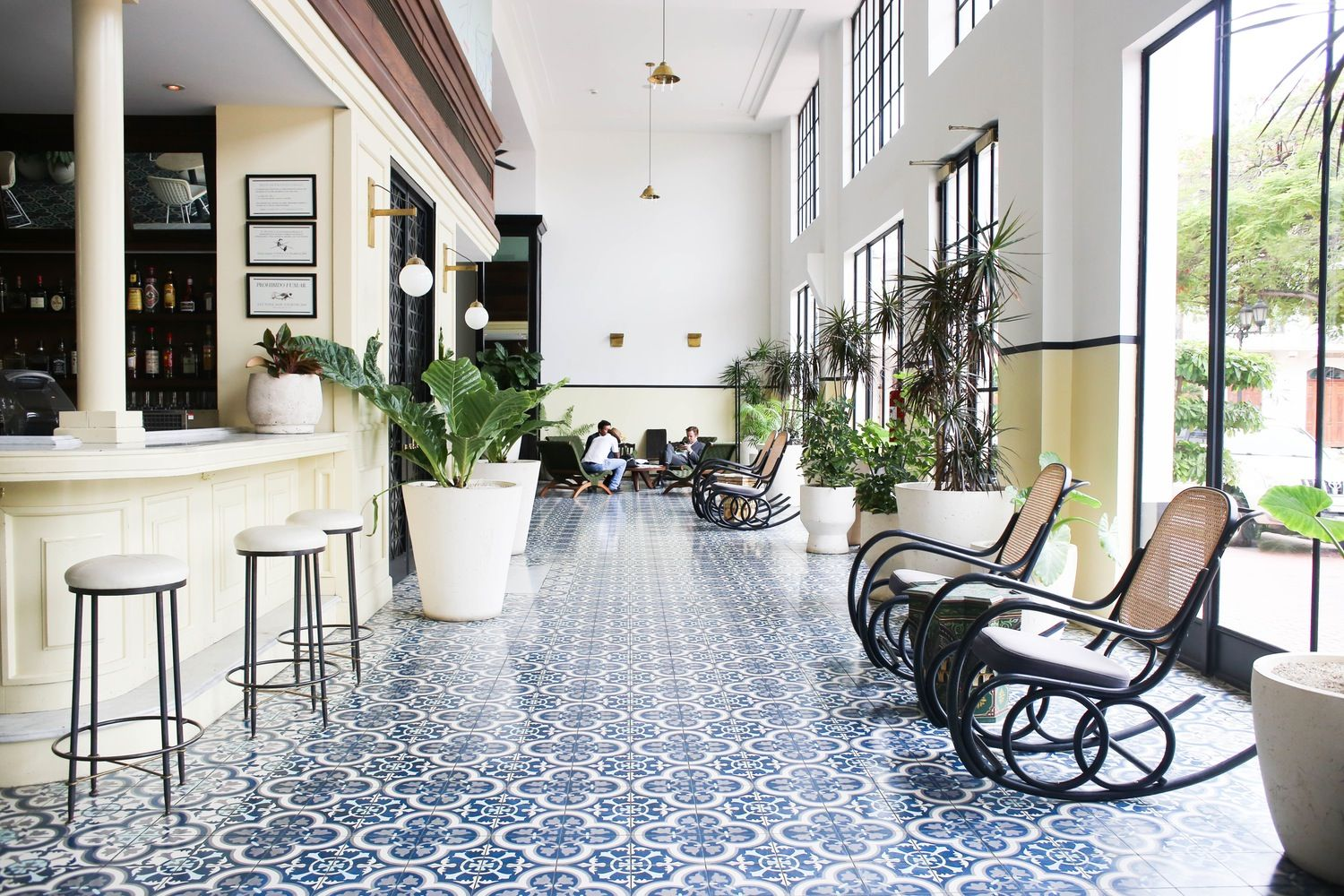 old and new mix in panama city's american trade hotel | best