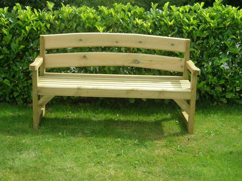 17 Best ideas about Wooden Garden Benches on Pinterest Stone