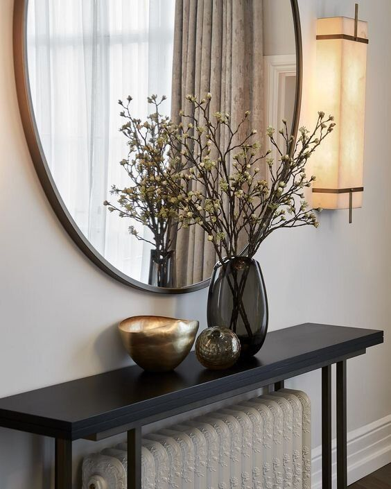 Console, Sofa , & Entry Table – What's The Difference Between Them & Does It Even Matter?   The Savvy Heart   Interior Design, Décor, and DIY