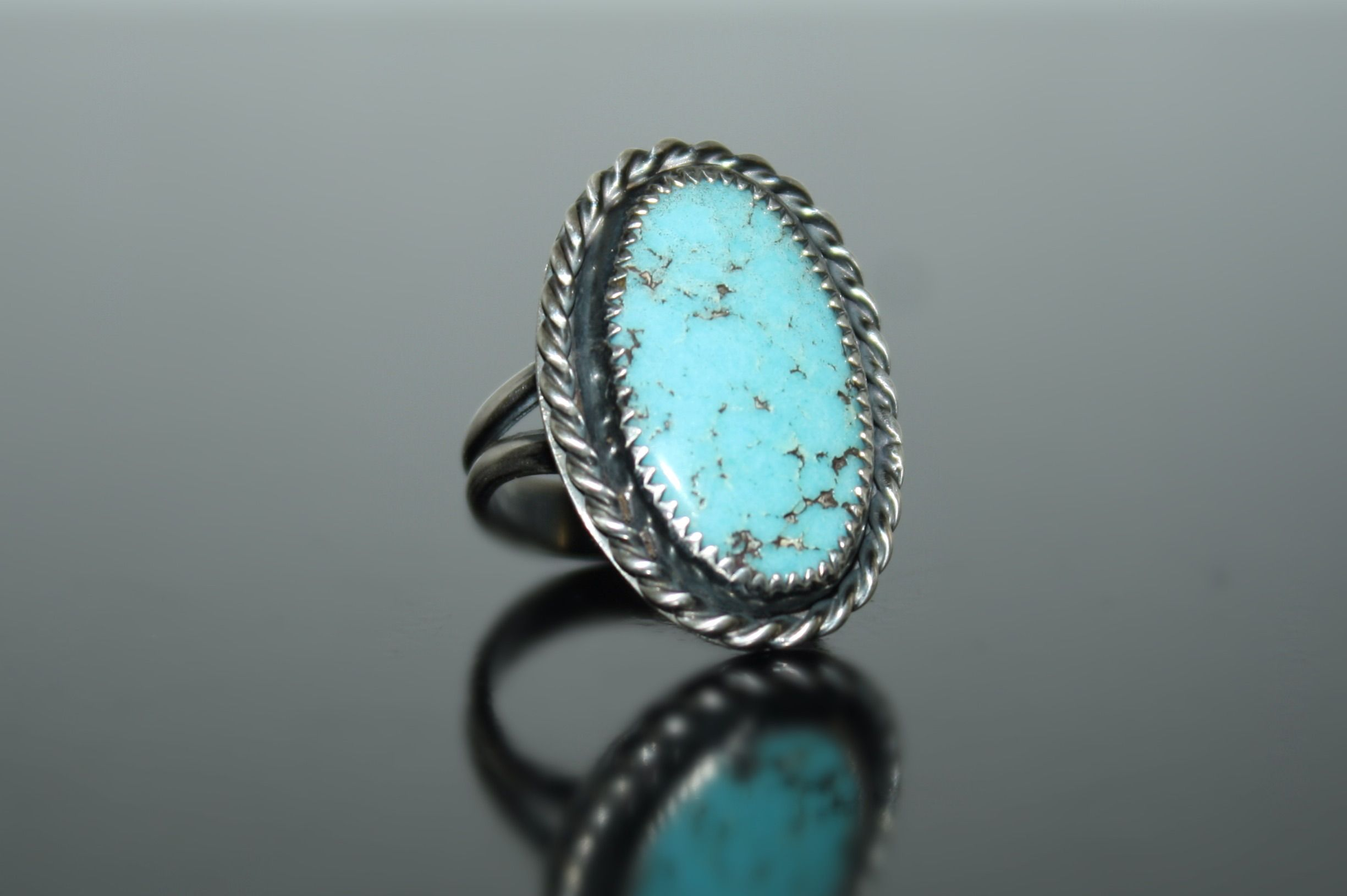 Size 5.75 Turquoise sterling silver ring from Shirin Designs ...