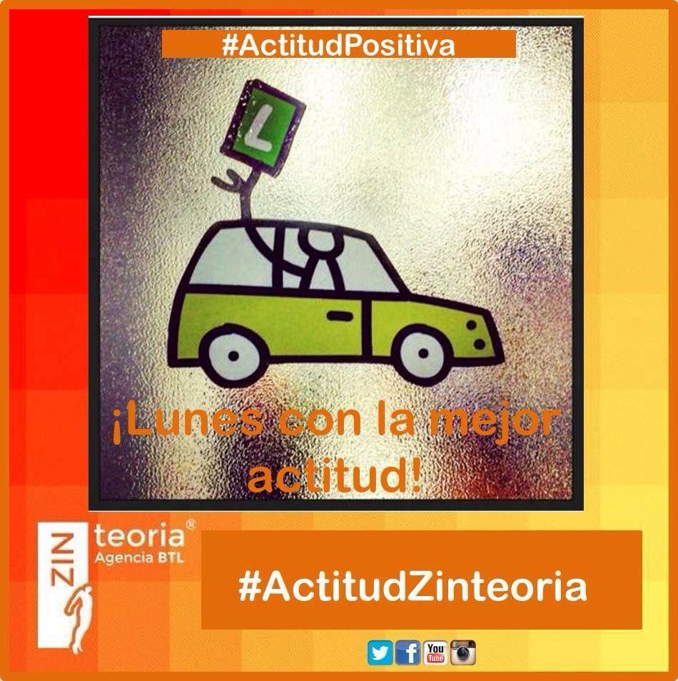 #Lunes trabajando con toda la actitud #ActitudPositiva #ActitudZinteoria  #PublicidadBTL  #AgenciaBelowTheLine ☎ (33) 3826 3381  e.olmos@zinteoria.com & raul.ds@zinteoria.com