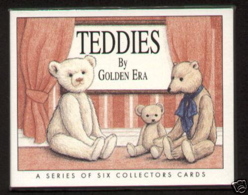 Steiff Gerbruder Bing Hermann Collectors Card Set Beautiful Teddy Bears By Golden Era