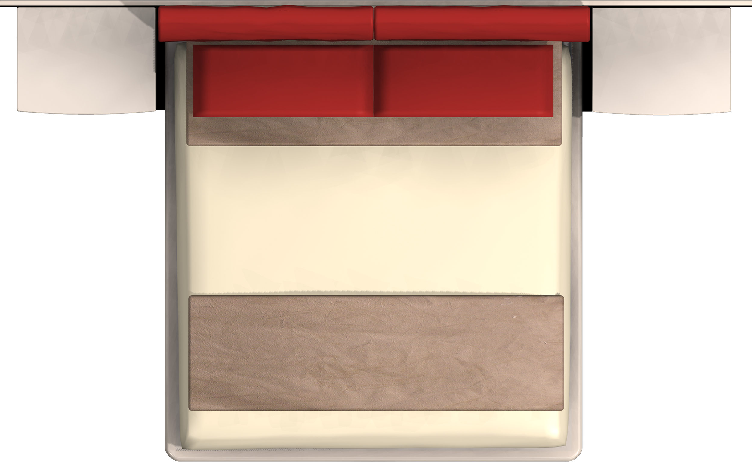 double bed top view.  Double Top View Png    Google Mais And Double Bed Top View E
