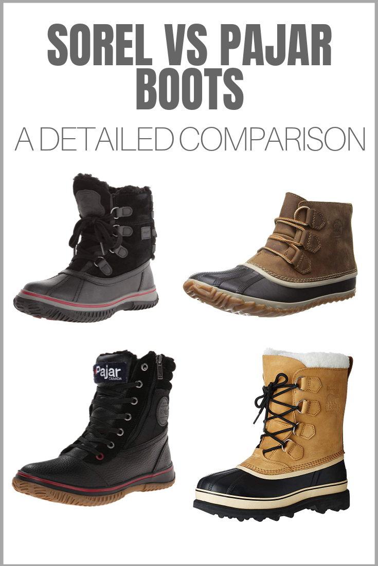 d4ee3a3a011 Sorel vs Pajar - two classic Canadian snow boot makers compared ...