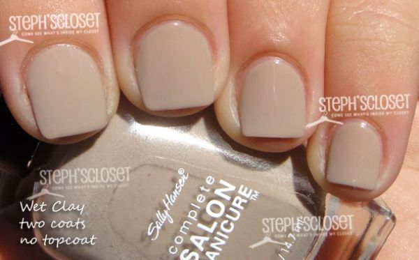 Sally Hansen Wet Clay Nail Polish