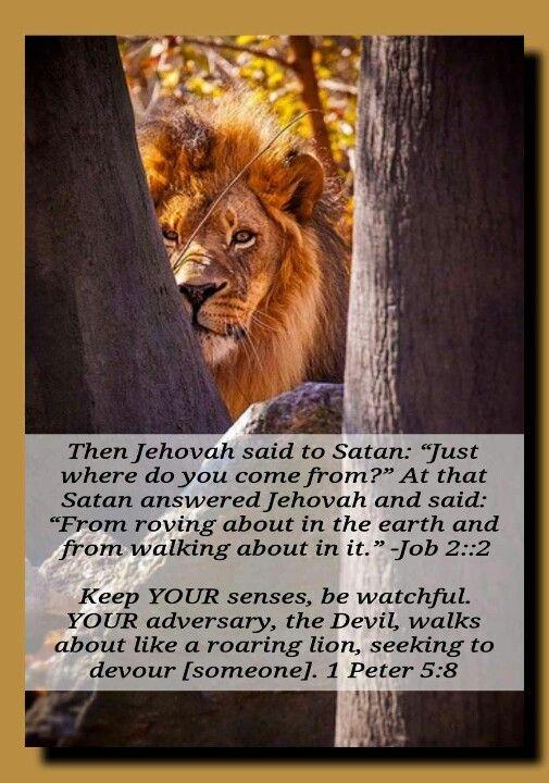 Gott Fragte Satan Woher Kommst Du Und Er Antwortete Vom