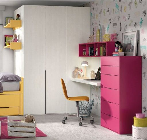 soluciones de almacenaje para dormitorios infantiles y juveniles cmoda chroma