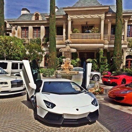Luxury Homes Luxury Cars Money And Power Lavish Lifestyles To Aspire To Millionaire Homes Luxury Life Luxury Cars