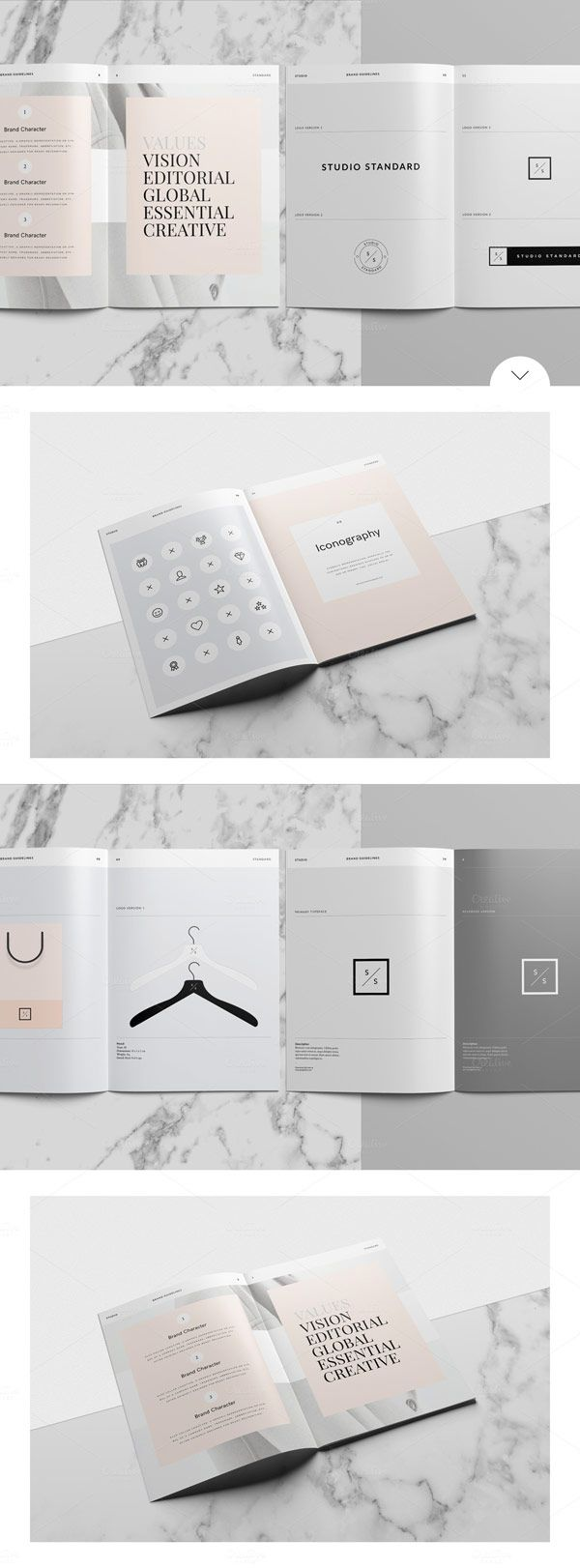 Studio Branding Guidelines Template for Adobe InDesign (WE AND THE ...