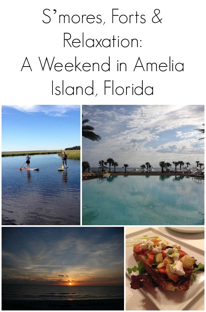 S Mores Forts Relaxation A Weekend In Amelia Island Florida