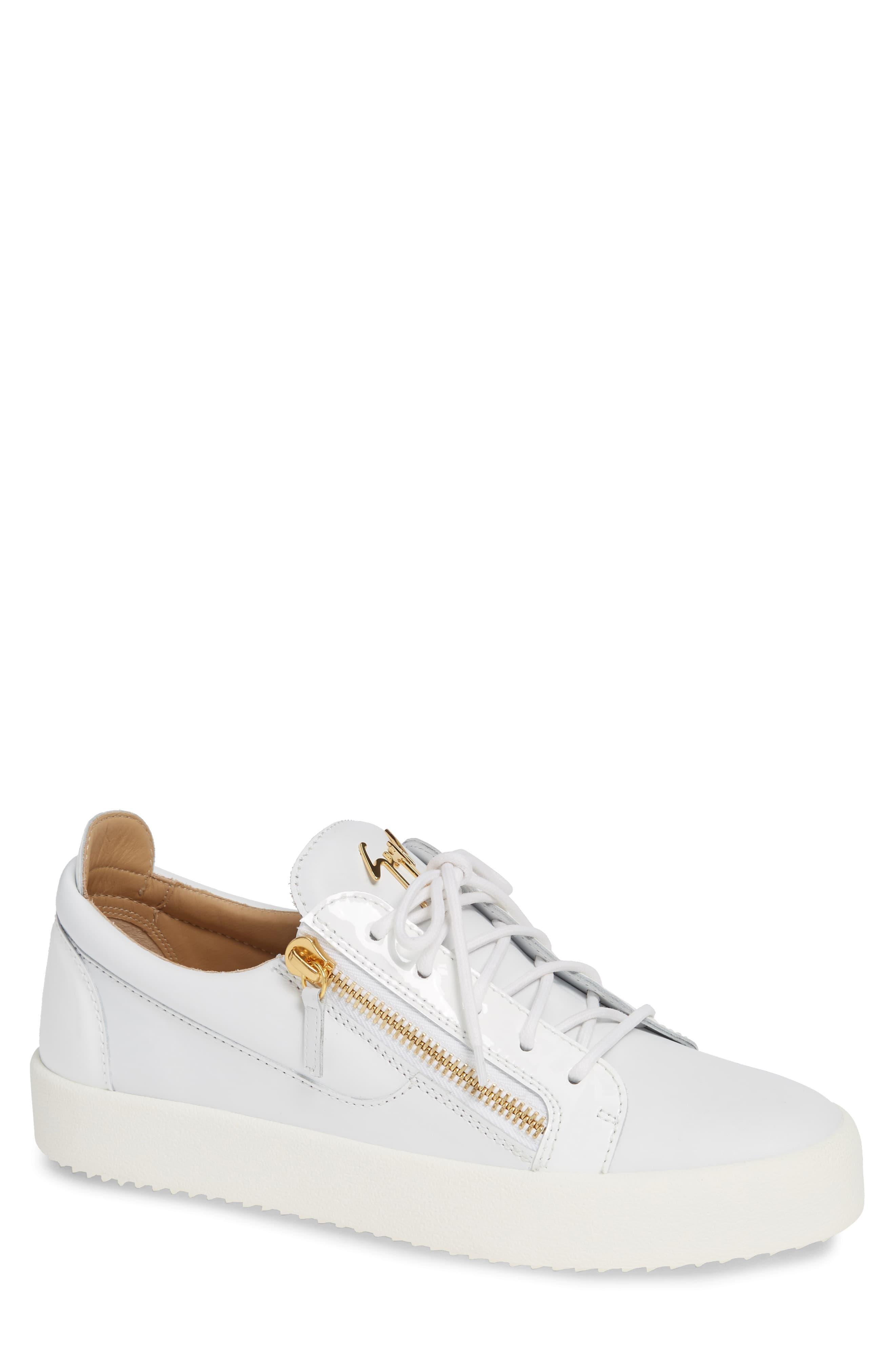 becebe7c5dcc7 Men's Giuseppe Zanotti Low Top Sneaker, Size 40 EU - White in 2019 ...