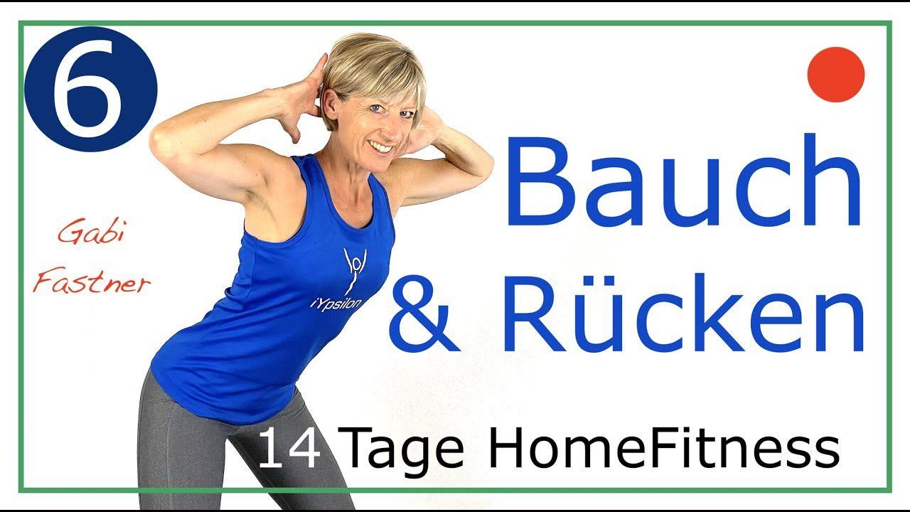 14.6🦎 45 min flacher Bauch - starker Rücken   ohne Geräte - YouTube
