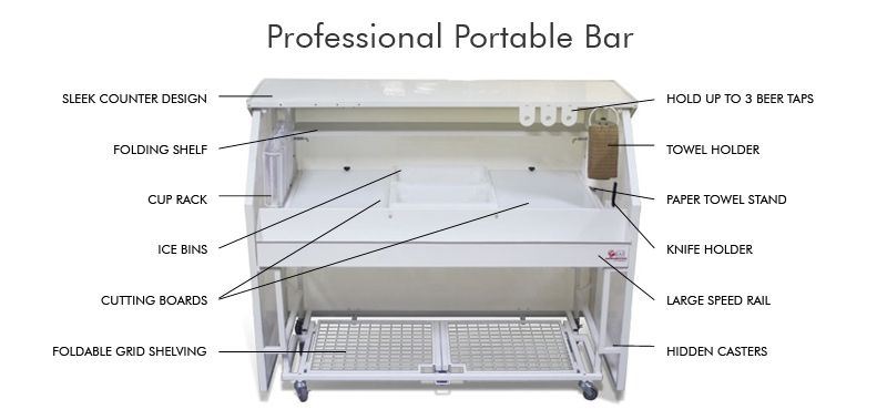 new design portable bar counterbar counter furnitureevent dj Mobile ...