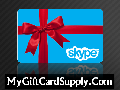 Buy Skype Credit Card from MyGiftCardSupply and get this