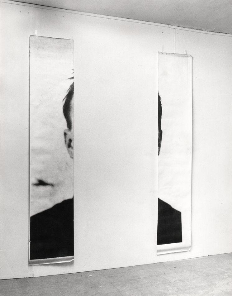 "Znalezione obrazy dla zapytania michelangelo pistoletto ""The Ears of Jasper Johns"