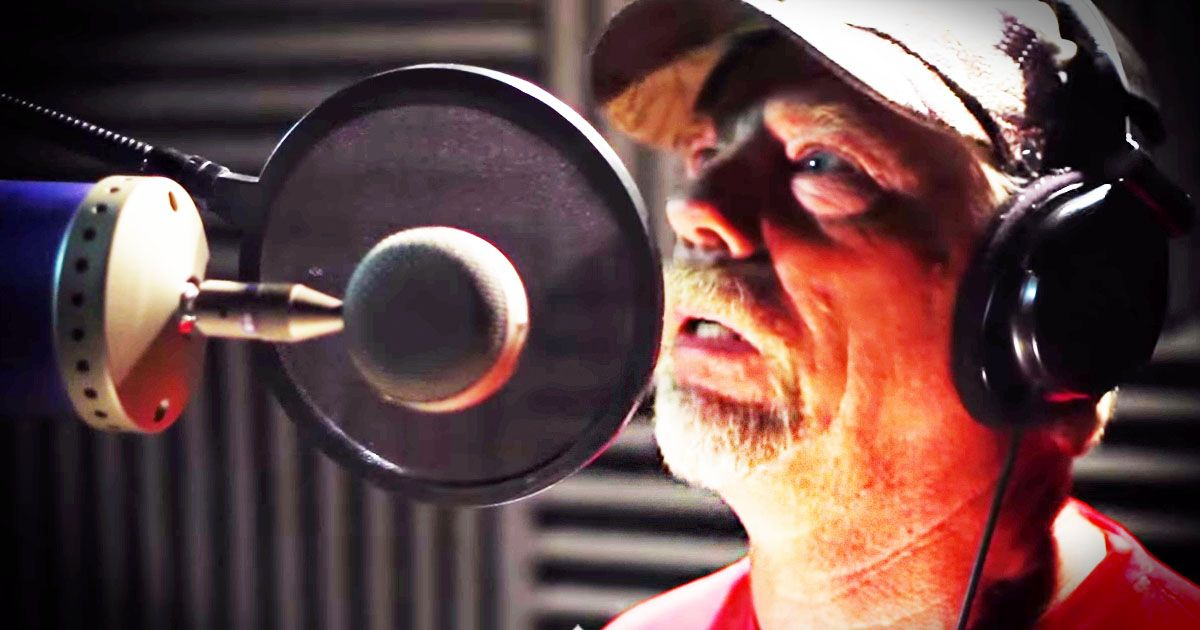 Dennis always liked singing but had never sang in front of anyone. So his friend set up a camera and mic to record his first attempt, and THIS is what happened. You're never to old to try new things!
