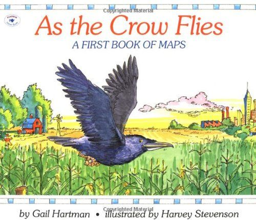 As the Crow Flies A First Book of Maps by Gail Hartman,   www - copy interactive world map amazon