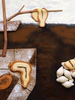 These Photos Of Famous Paintings Recreated With Food Are Seriously Amazing Food Art Great Works Of Art World Famous Paintings