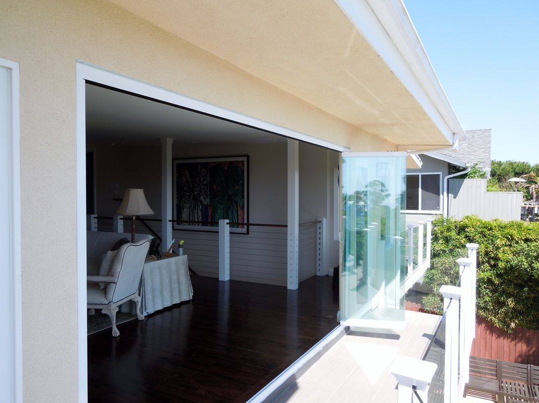 Retractable Glass Wall Los Angeles French Doors Exterior Custom