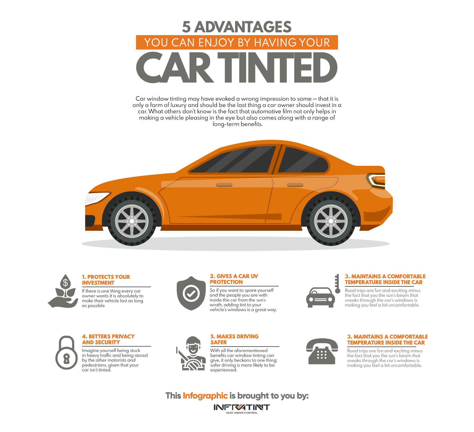 Car Window Tinting May Have Evoked A Wrong Impression To Some That It Is Only A Form Of Luxury And Should Be The Last Thi Car Window Tint Film Tinted Windows