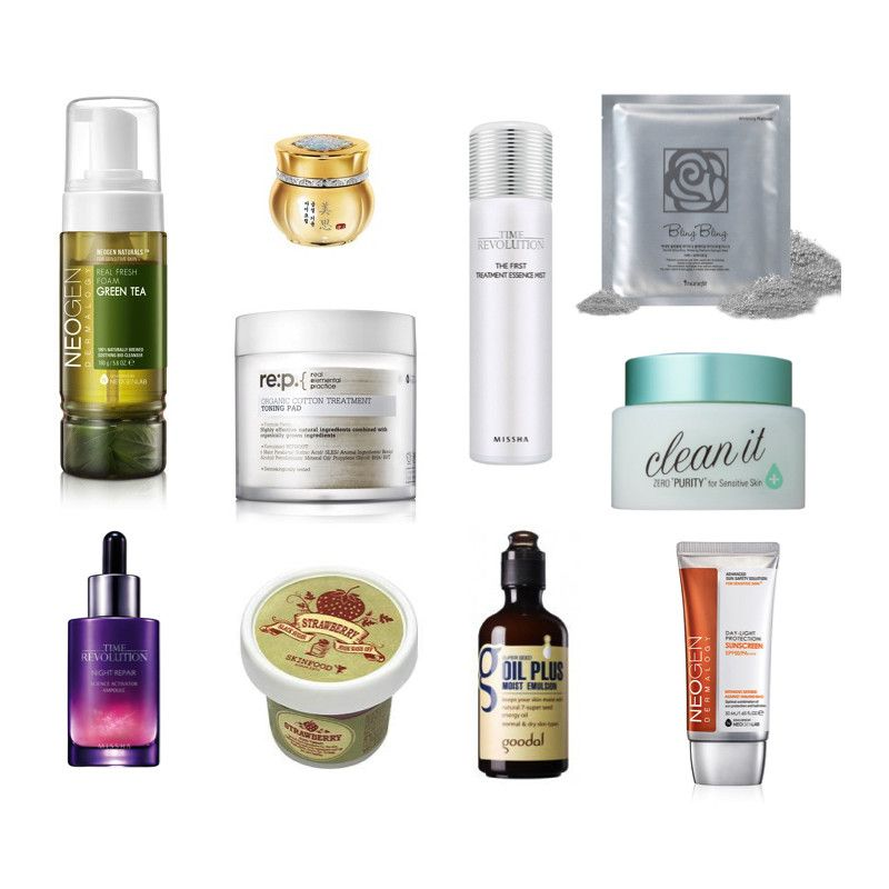10 Step Korean Skincare Routine Set Combination Skin Type Soko Glam 10 Step Skin Care Routine Korean Skincare Routine Combination Skin Type