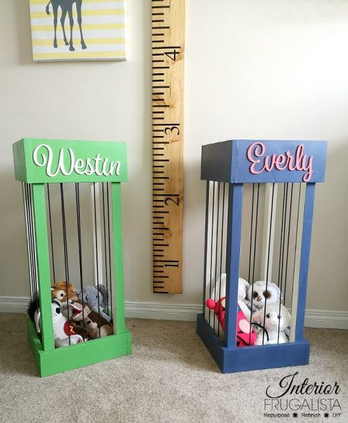 10 Creative DIY Toy Storage Ideas- A Cultivated Nest