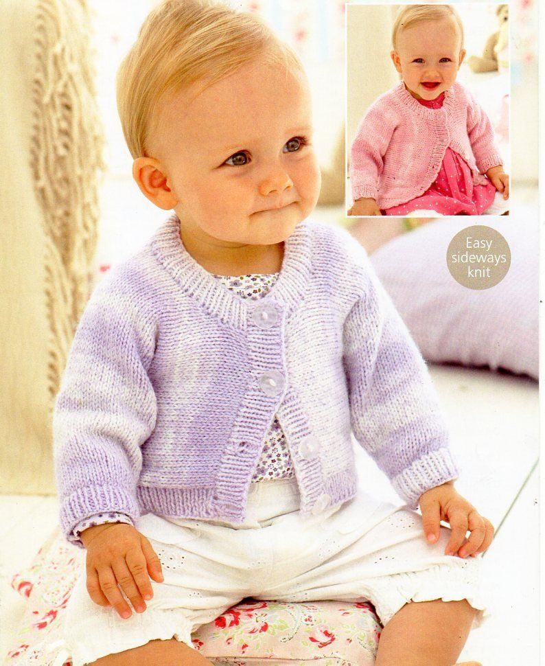 baby cardigan knitting pattern pdf childrens cardigan ...