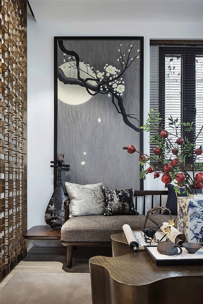 Pin By Demi On Chinese Zen Style Zen Interiors Asian Decor Living Room Asian Interior Design