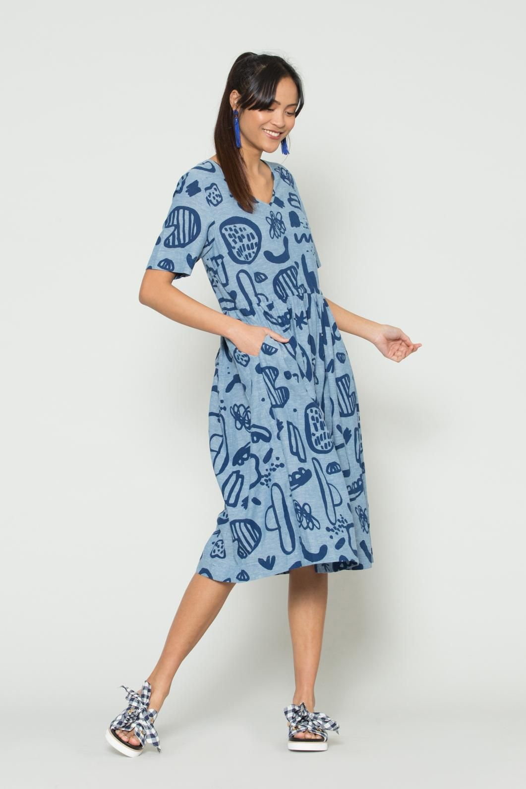 a96adc6c36 Size 12 Gorman Online    Big Sur Chambray Dress - Dresses - Clothing - Shop