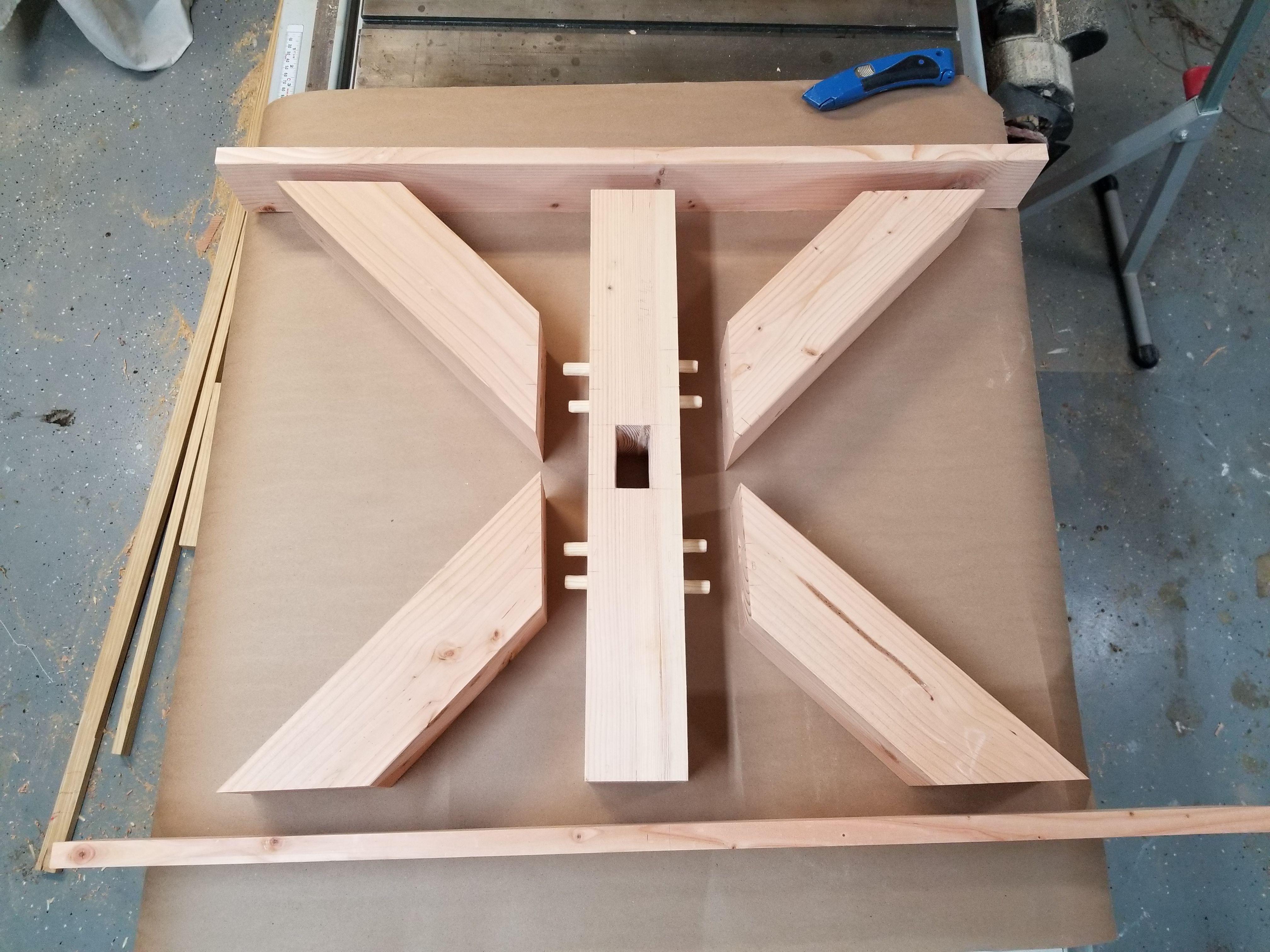Pleasant Farmhouse Table By Elana Woodworks Woodworking In 2019 Machost Co Dining Chair Design Ideas Machostcouk