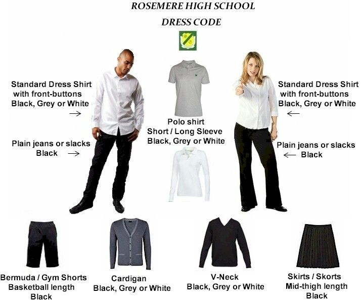 Interview dress code images high school