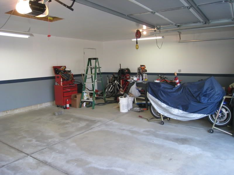 Paint Colors For Garage Interior Errors Because Of It But It S A Garage Just After Painting