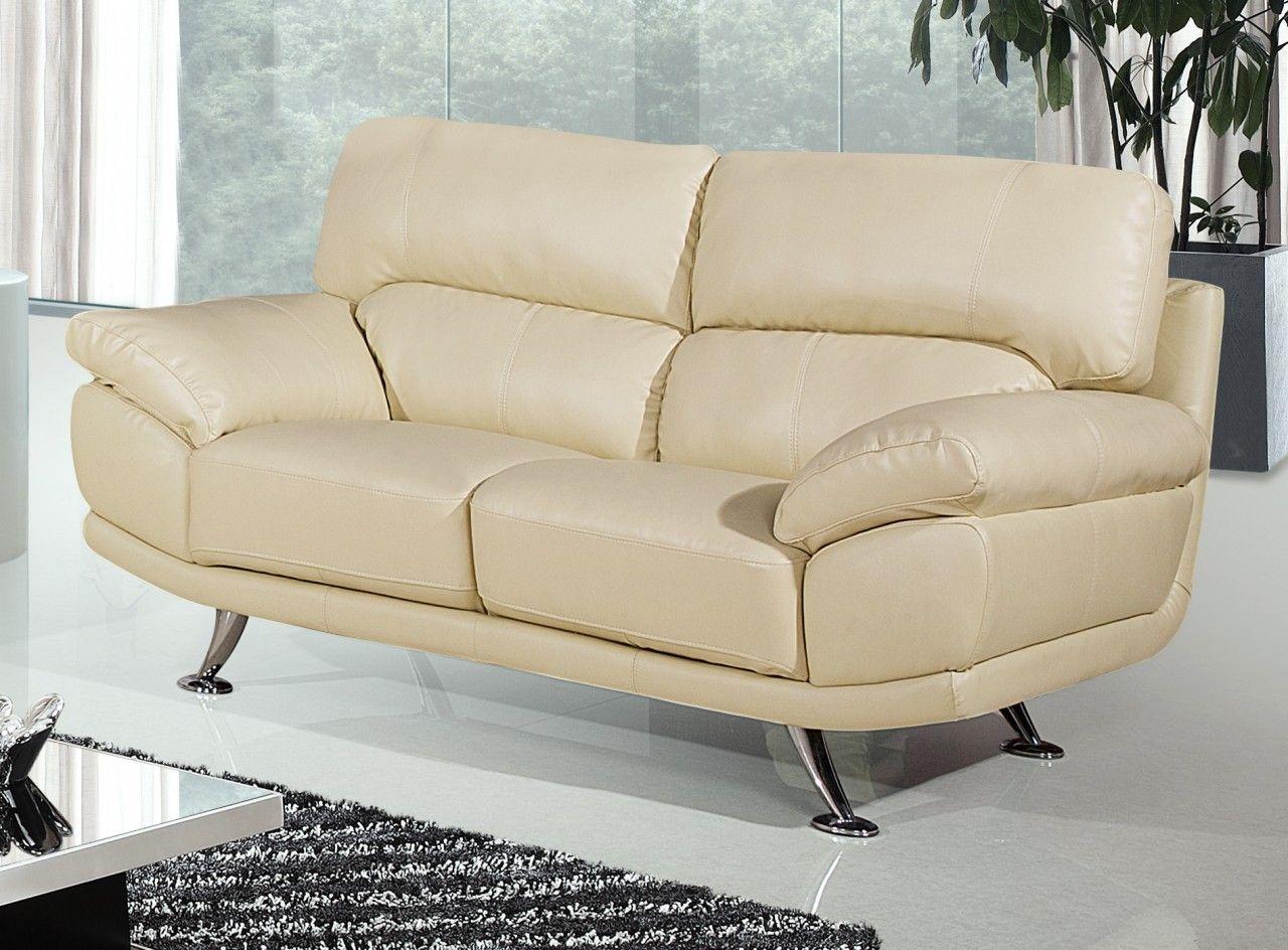 2 Seater Cream Leather Sofa Decor Ideasdecor Ideas Cream