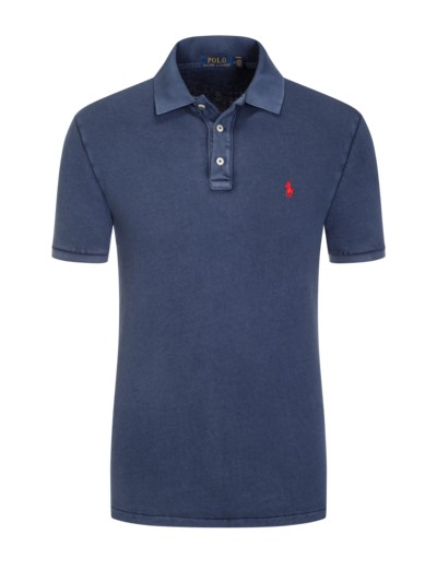 Polo Ralph Lauren Poloshirt Frottee Washed Look Rot Polo Ralph Lauren Ralph Lauren Polo