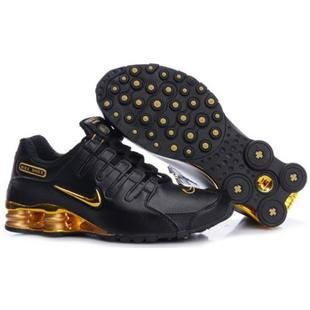 Nike Shox Black And Yellow