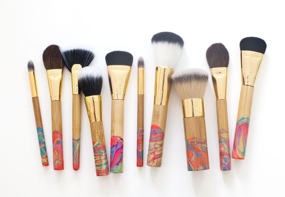 Polish d makeup brushes