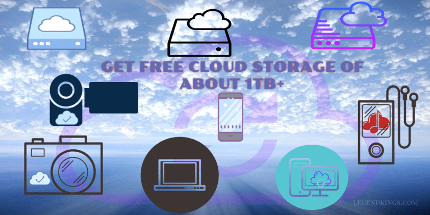 GET FREE CLOUD STORAGE OF ABOUT 1TB+ in 2020 Free cloud