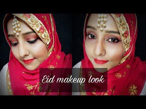 eid makeup look for beginners  eid makeup look with hijab