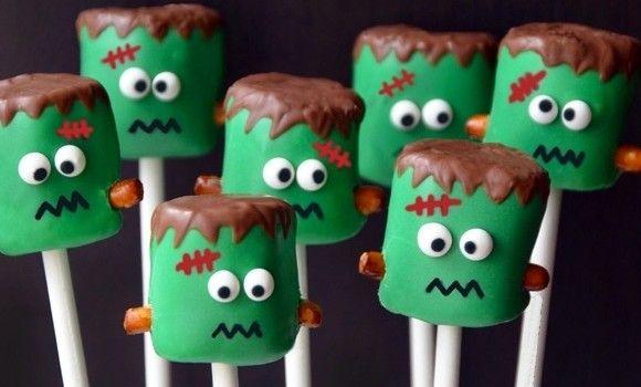 receta cake pops halloween