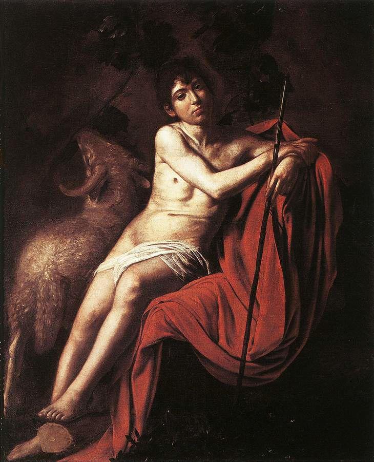 Caravaggio (Michelangelo Merisi) • San Giovanni Battista, ca. 1610