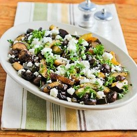 Eating healthier gets boring when you eat the same salads all the time. Try this tasty Balsamic Zucchini and Mushrooms Salad with Feta to keep things fresh. Re-pin now, check later.