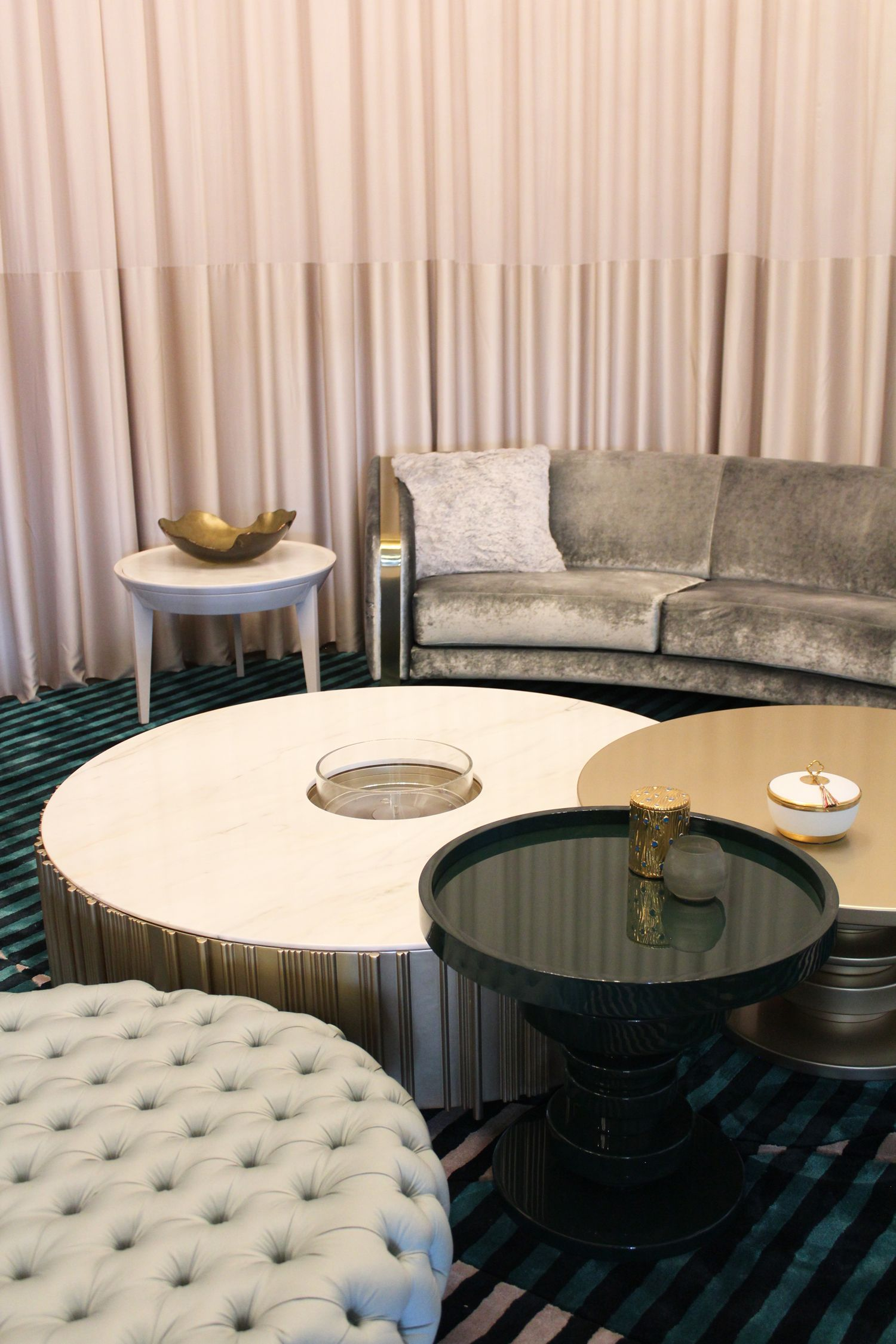 Uma Combina O Simples E S Bria Transforma A Decora O Da Sala De  -> Sala Simples Clean