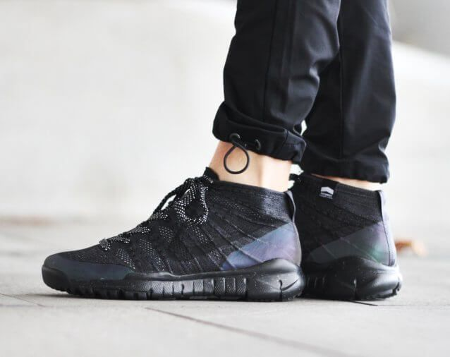 Nike Flyknit Trainer Chukka FSB Black | The Sole Supplier ...