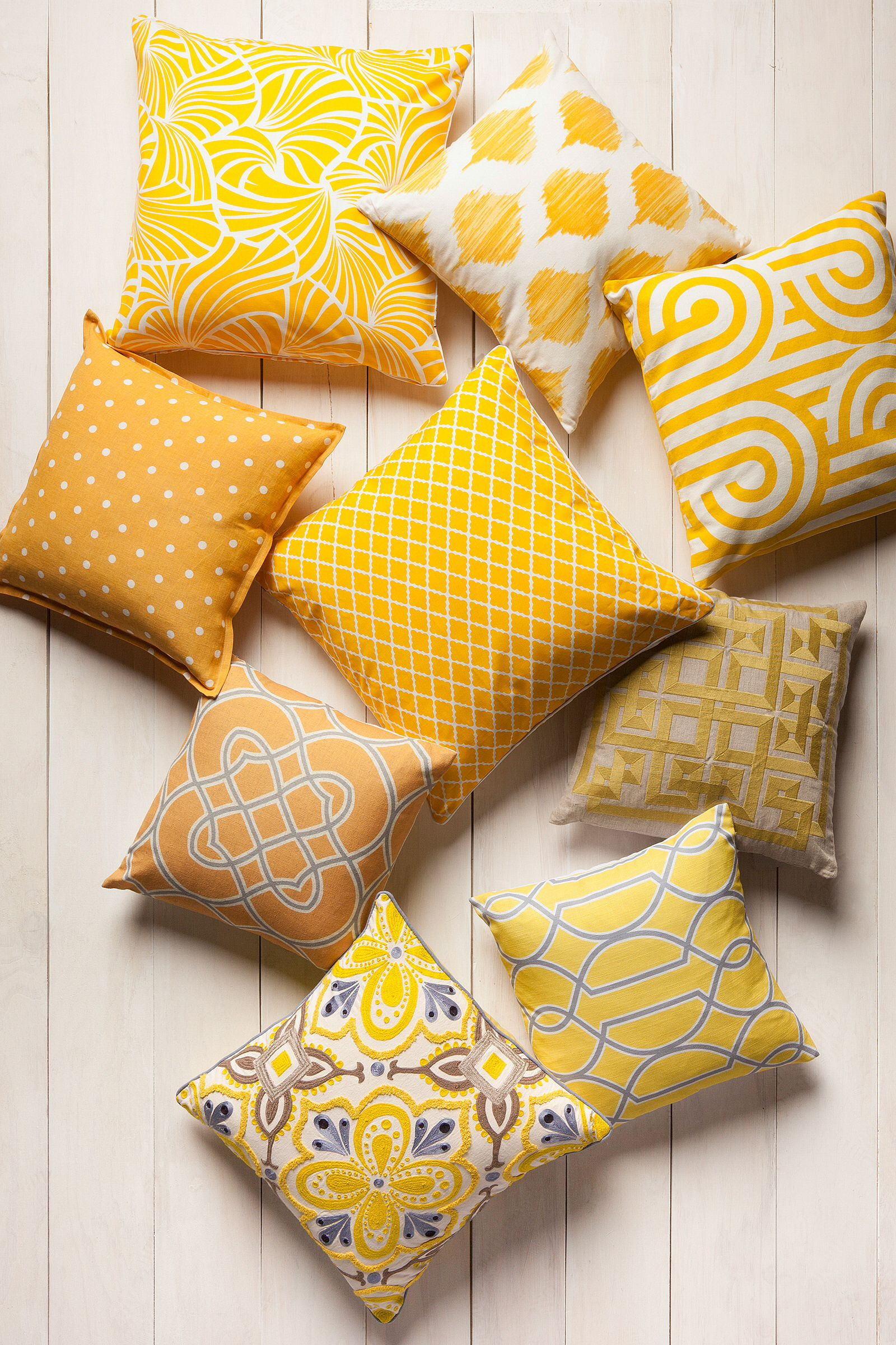 Yellow Pillows From Surya Yellow Pillows Yellow Decor