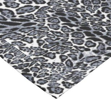 Title 32 animal print leopard black white fleece blanket description western