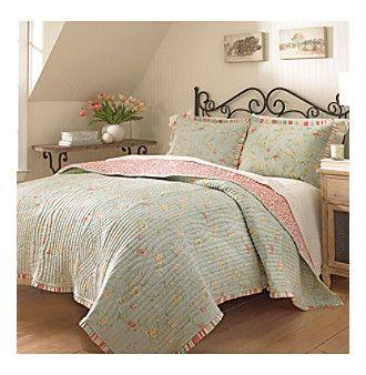 Waverly® Garden Glitz Reversible Quilt Collection